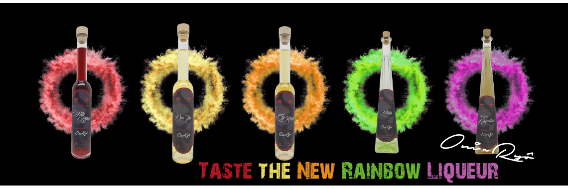 Taste the Rainbow Liqueur from Oni~Ryô.